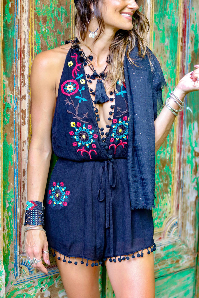 Lost Lovers Bohemian Hipster Playsuit