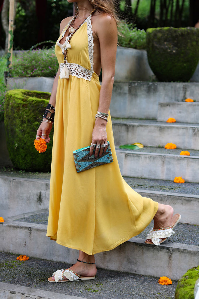 Lost Lovers Bohemian Enna Maxi Dress