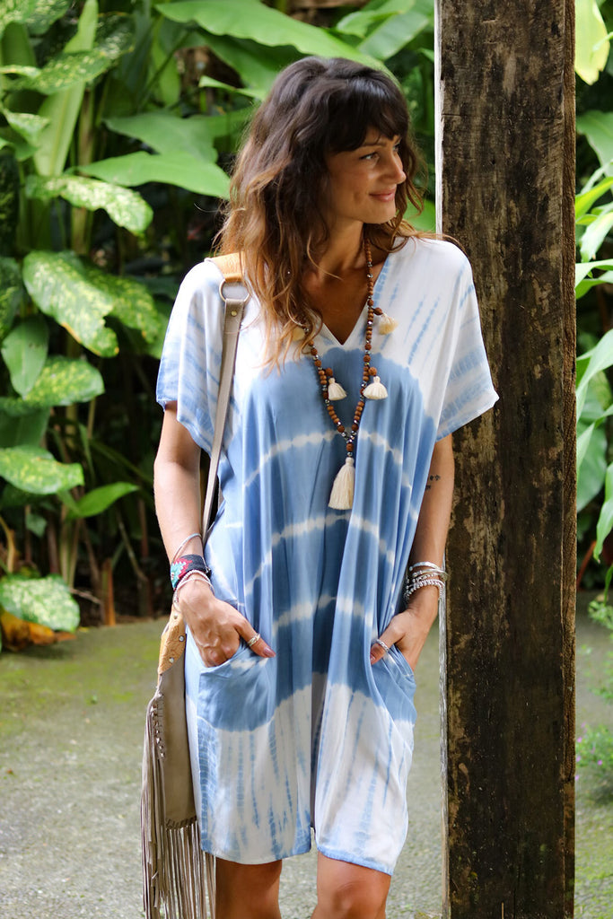 Lost Lovers Bohemian Ocean Dress
