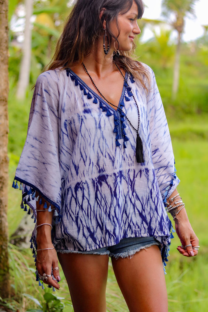 Lost Lovers Bohemian Poetry In Motion Kimono Top