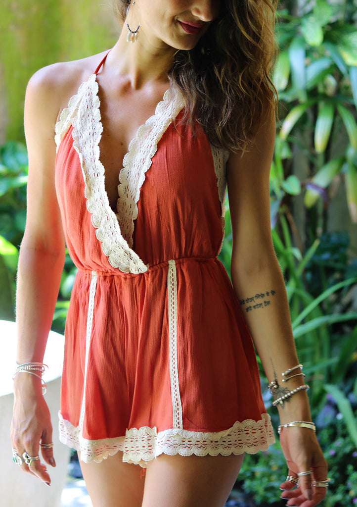 Lost Lovers Bohemian Calming Influence Playsuit