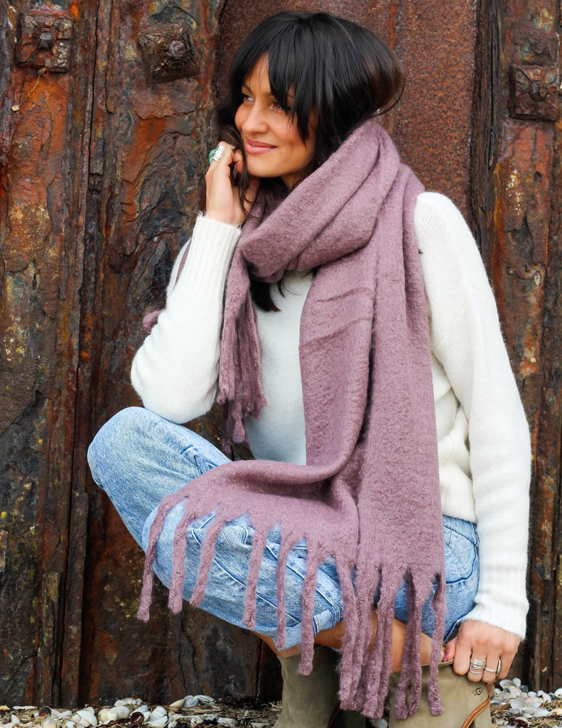 Autumn Air Cosy Wrap Around Scarf