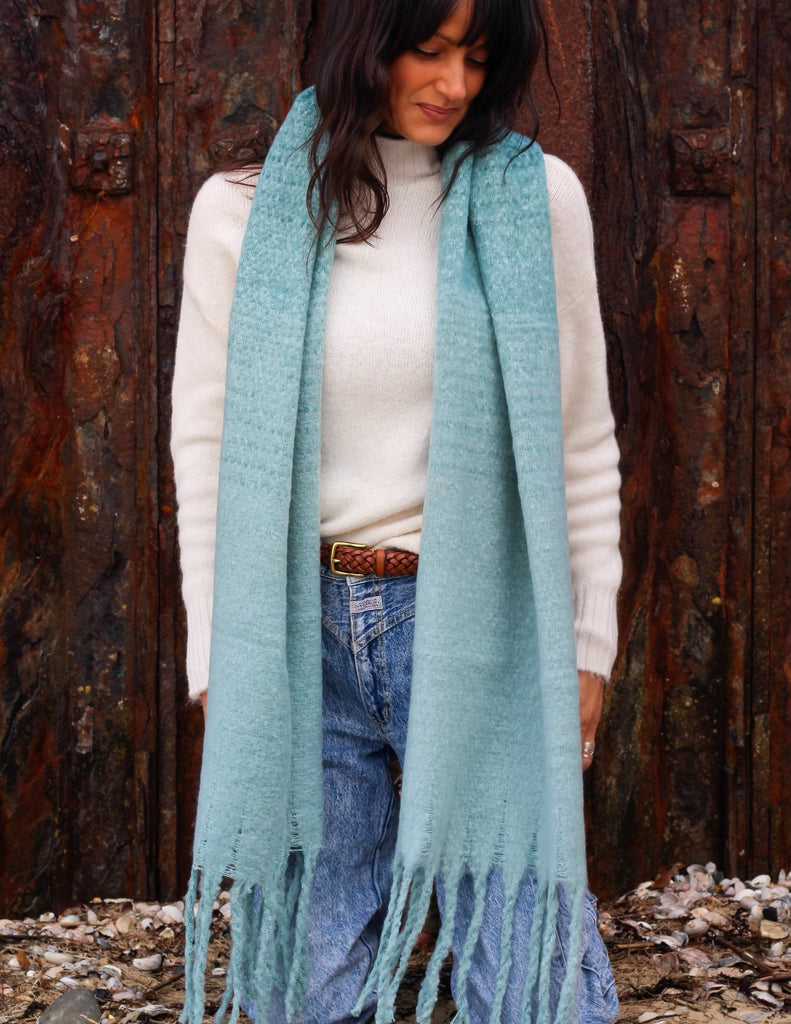 Forget Me Not Cosy Wrap Around Scarf
