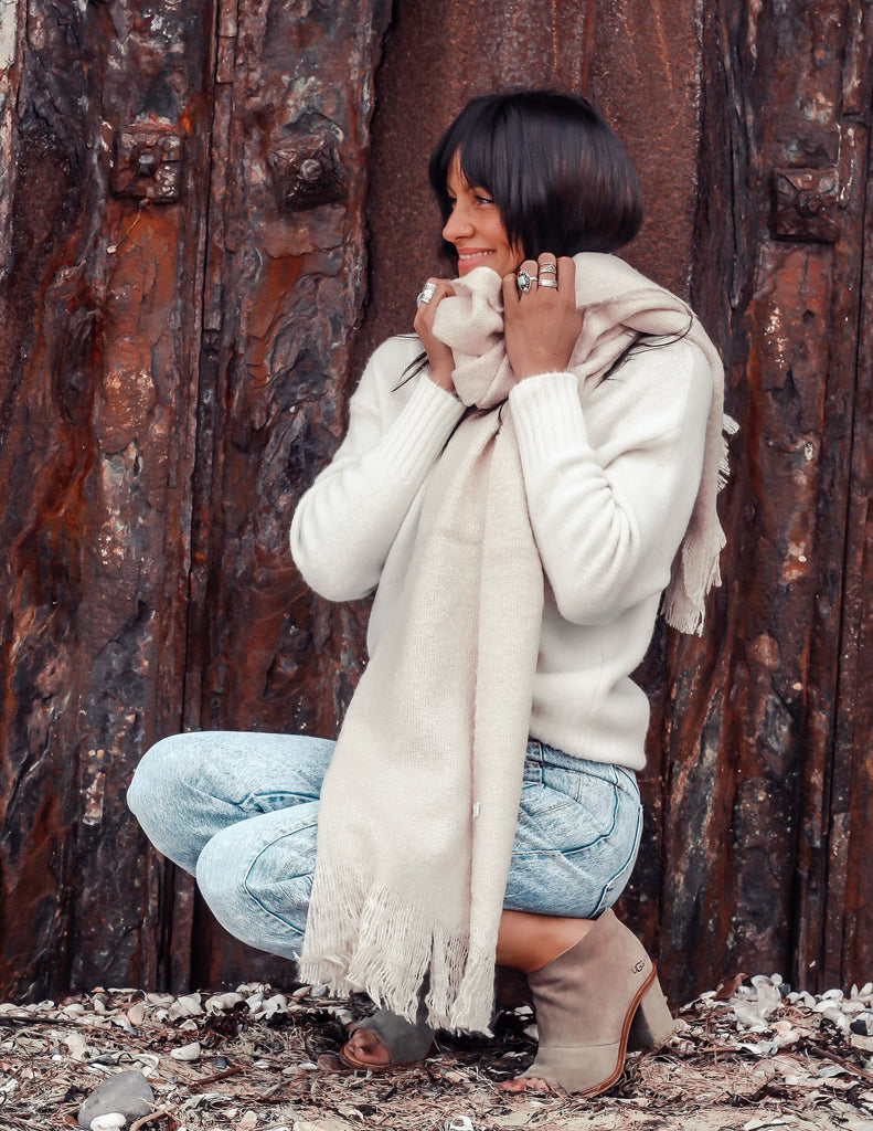 Pure Shores Cosy Wrap Around Scarf
