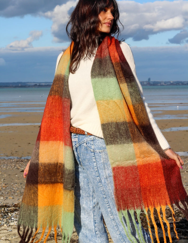 Feel The Love Cosy Wrap Around Scarf