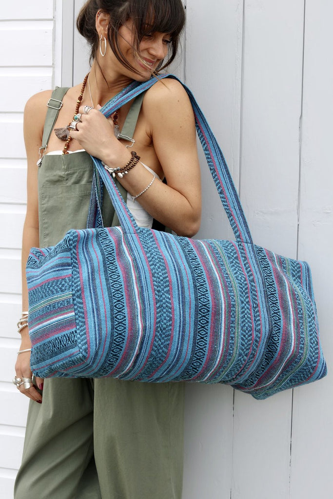 The Weekend Has Landed Handmade Oversized Slouchy Sling Bag