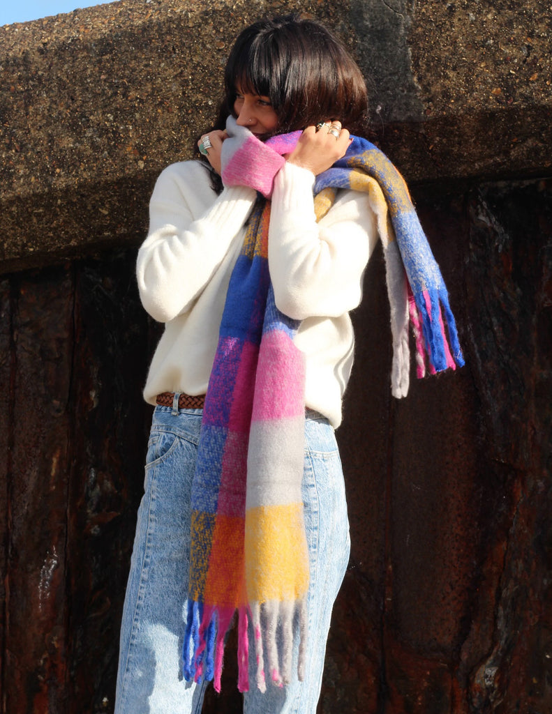 Party People Cosy Wrap Around Scarf