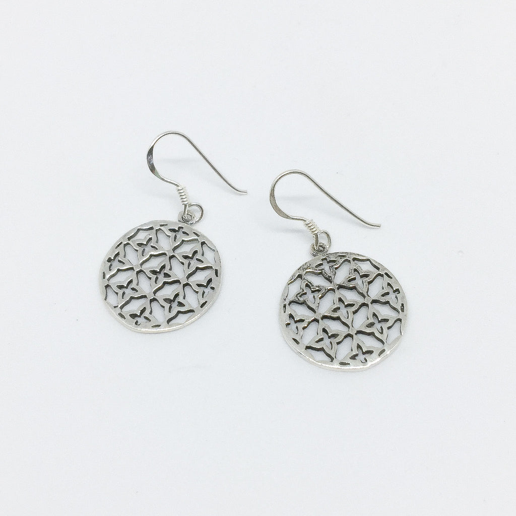 Its A Trend Thing Real Silver Earrings