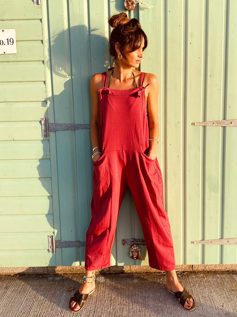 Love And Lust Coldwash Jersey Cotton Dungarees