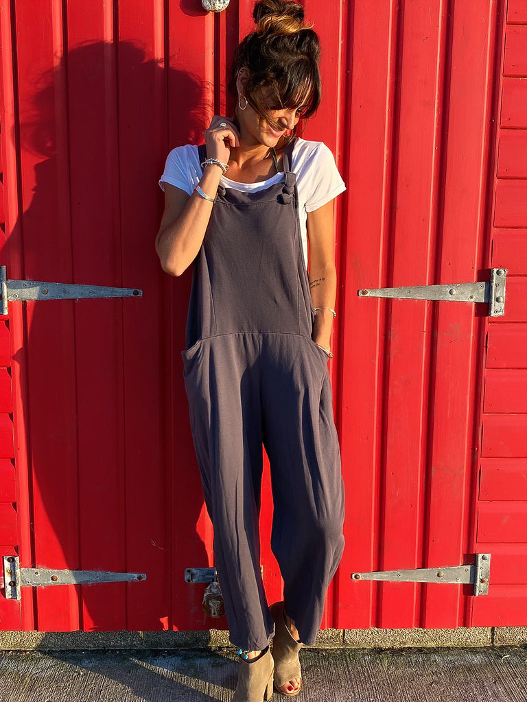 Unforgettable Coldwash Jersey Cotton Dungarees
