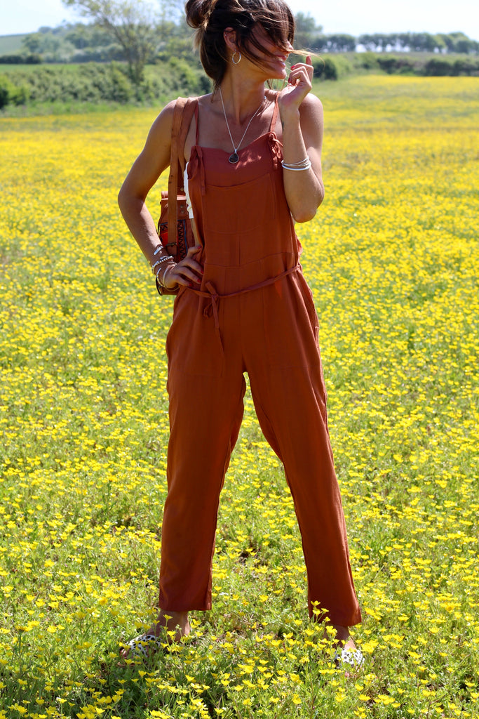 Crush On You All In One Jumpsuit Dungarees