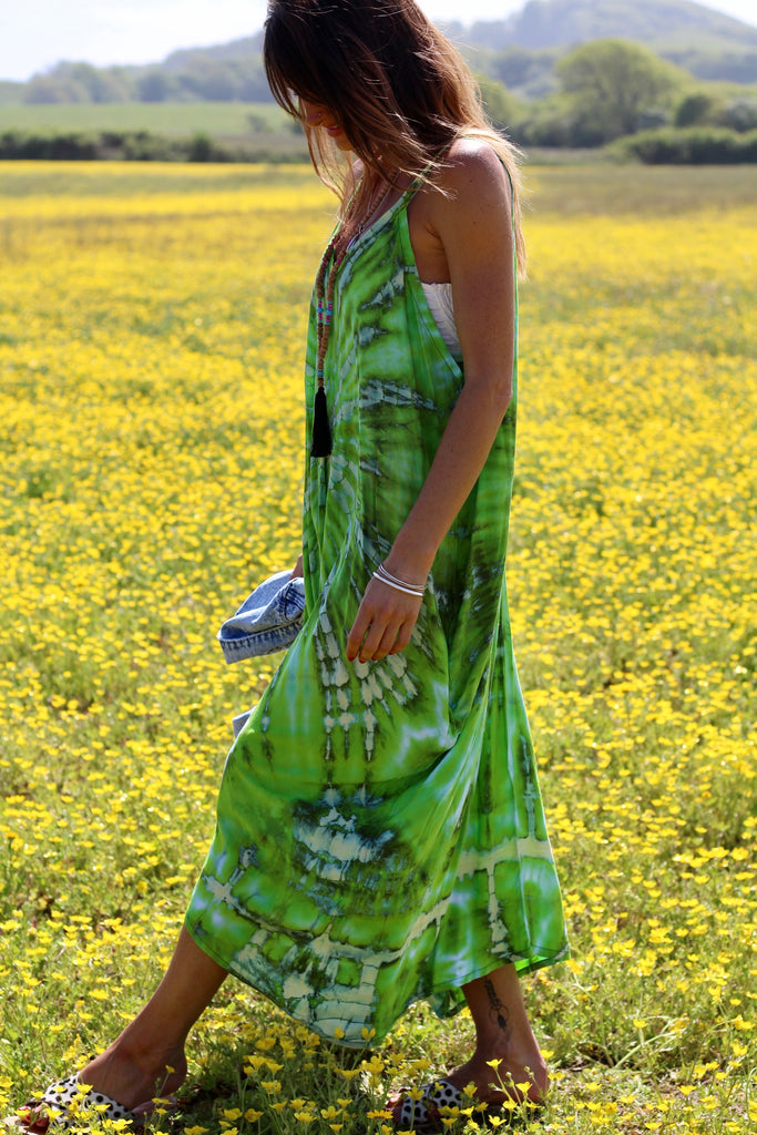 Dreaming In Bloom Handmade Maxi Dress
