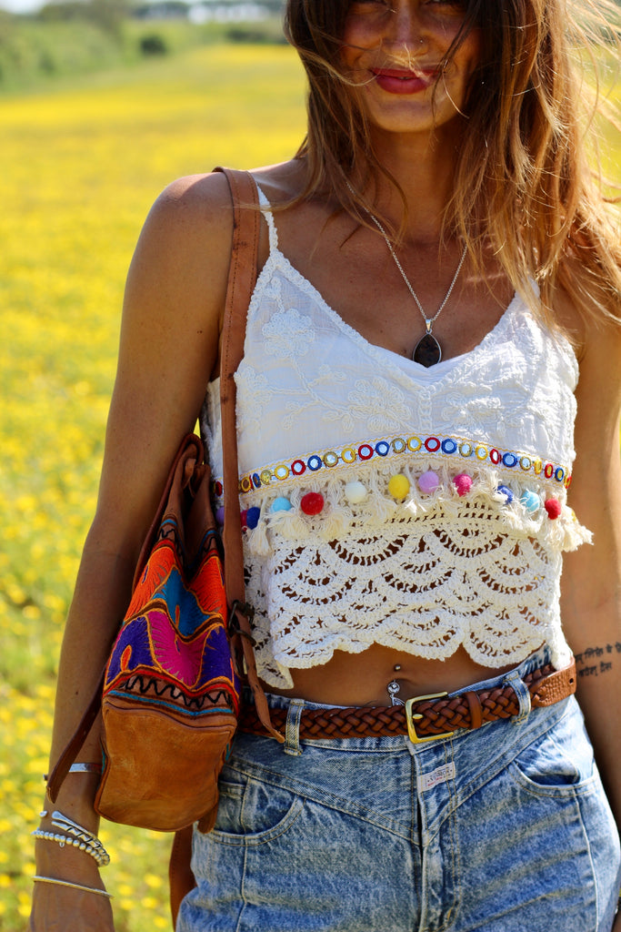 Shine Be Fine Crochet Top