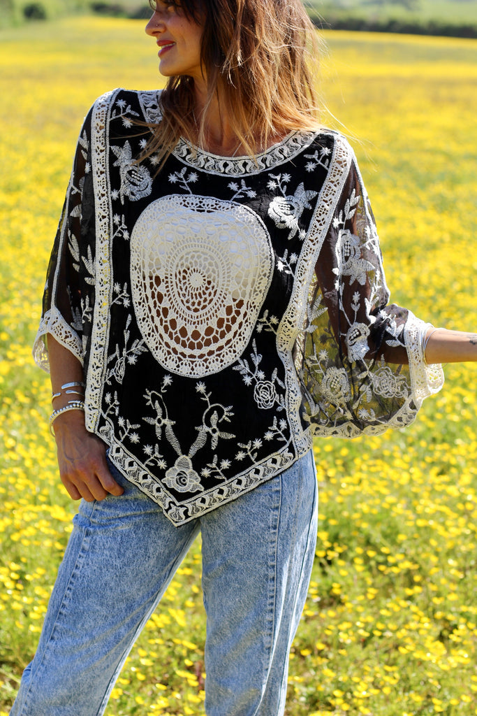 She's A Legend Crochet Top
