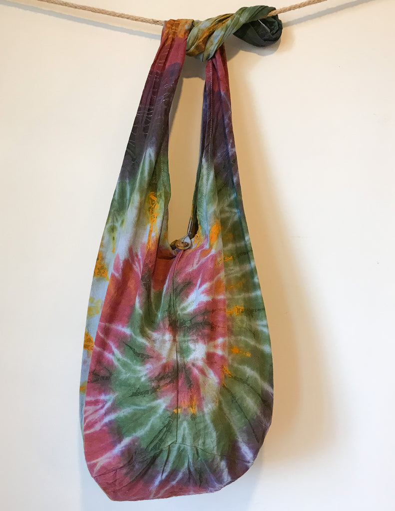 Days With You Tie Dye Tote Bag