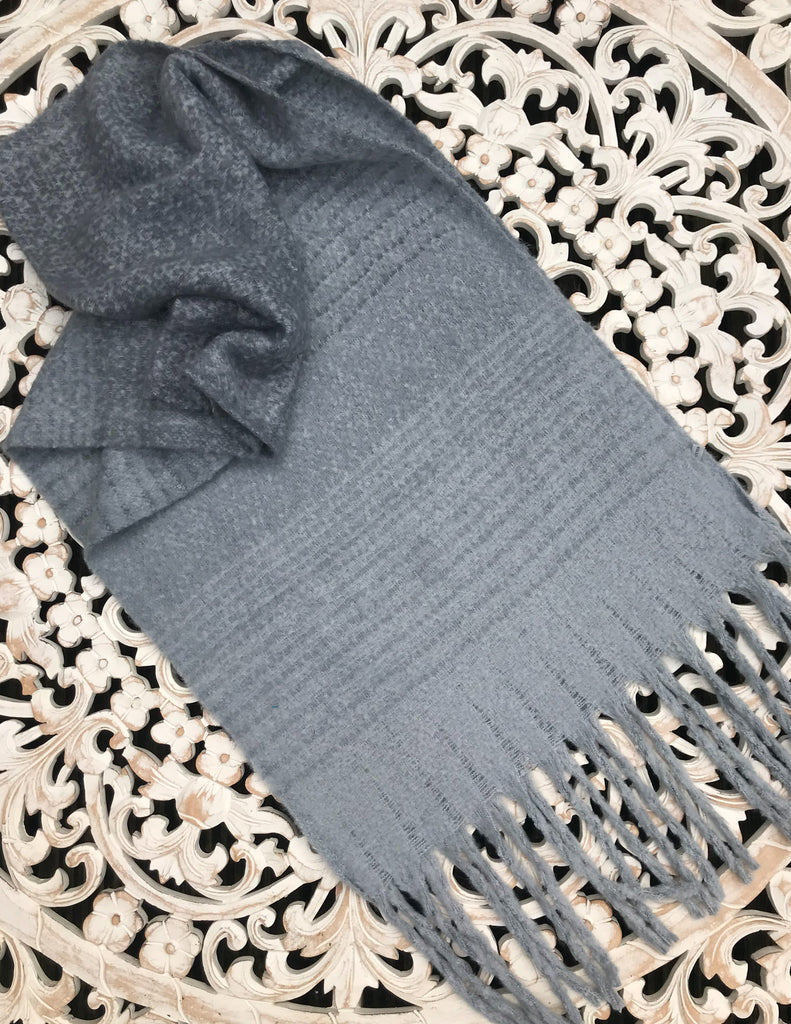 Crystal Clear Luxurious Cosy Scarf