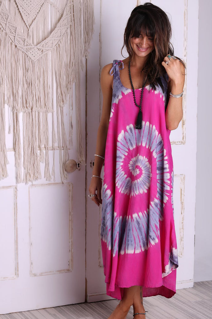 Love Birds Maxi Dress