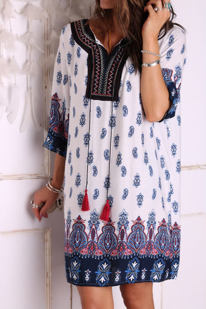 Bon Voyage Tunic Dress