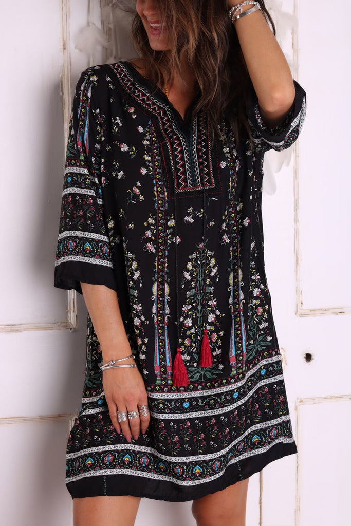 Right on Time Tunic Dress