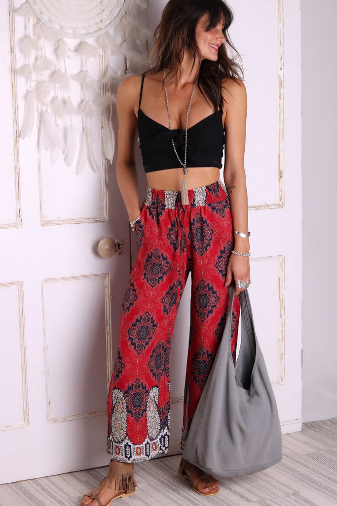 Forever Yours Wide Leg Trousers