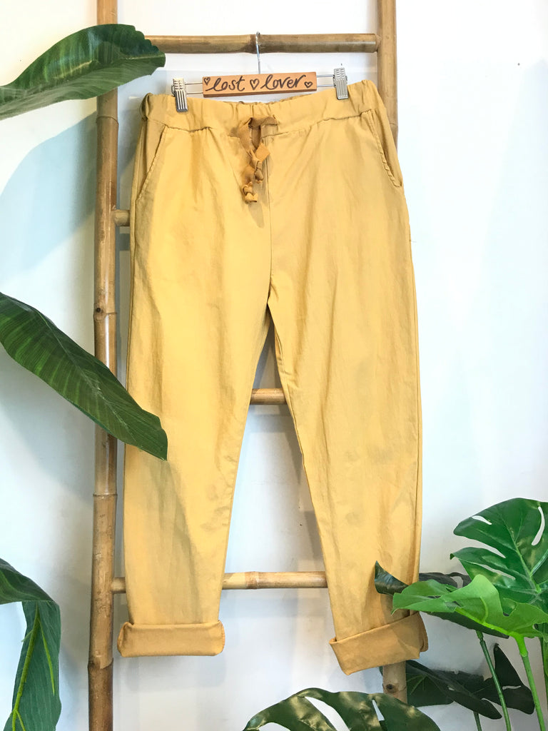 Bali Golden Relaxed Trousers