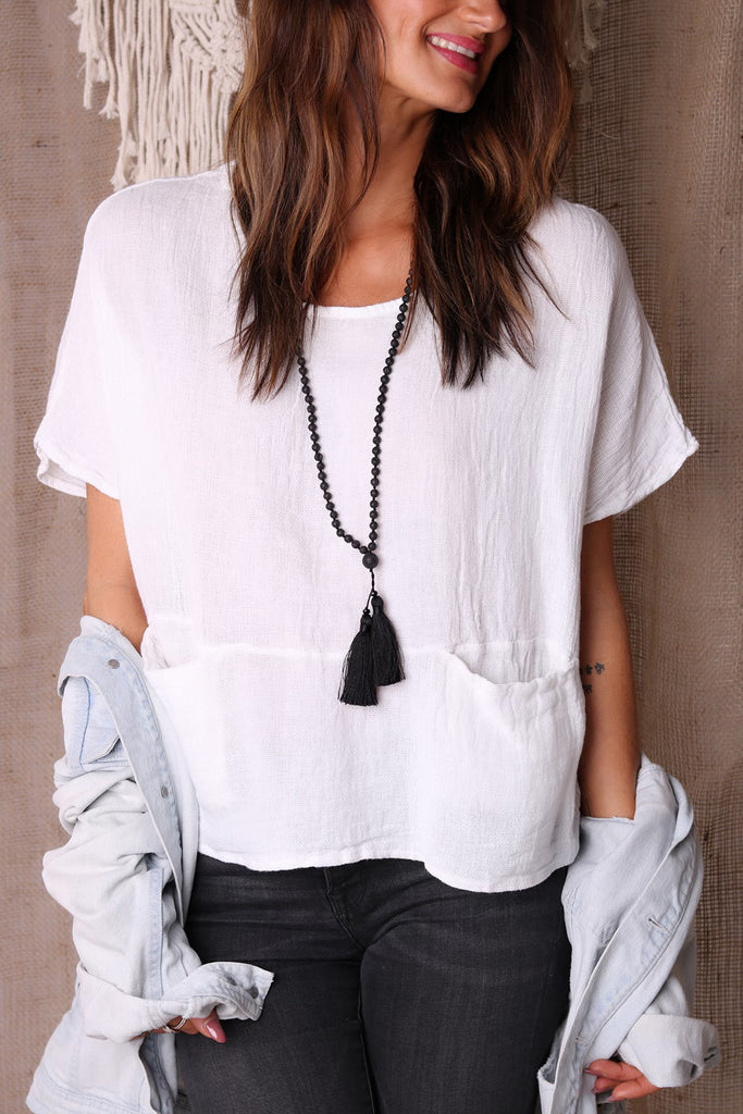 Pure Love Linen Top