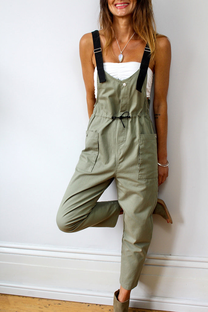 Major Crush Soft And Slouchy Overalls Dungaree