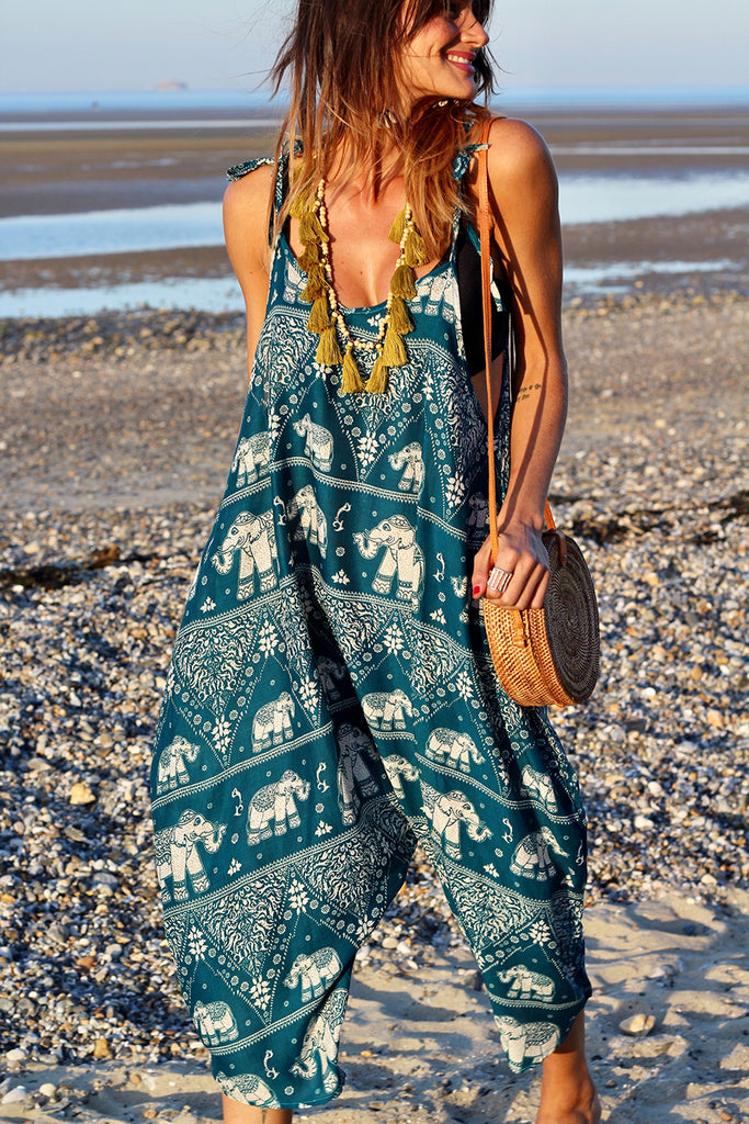 Wanderlust And Dreams Handmade Jumpsuit Harem Trouser Dungarees