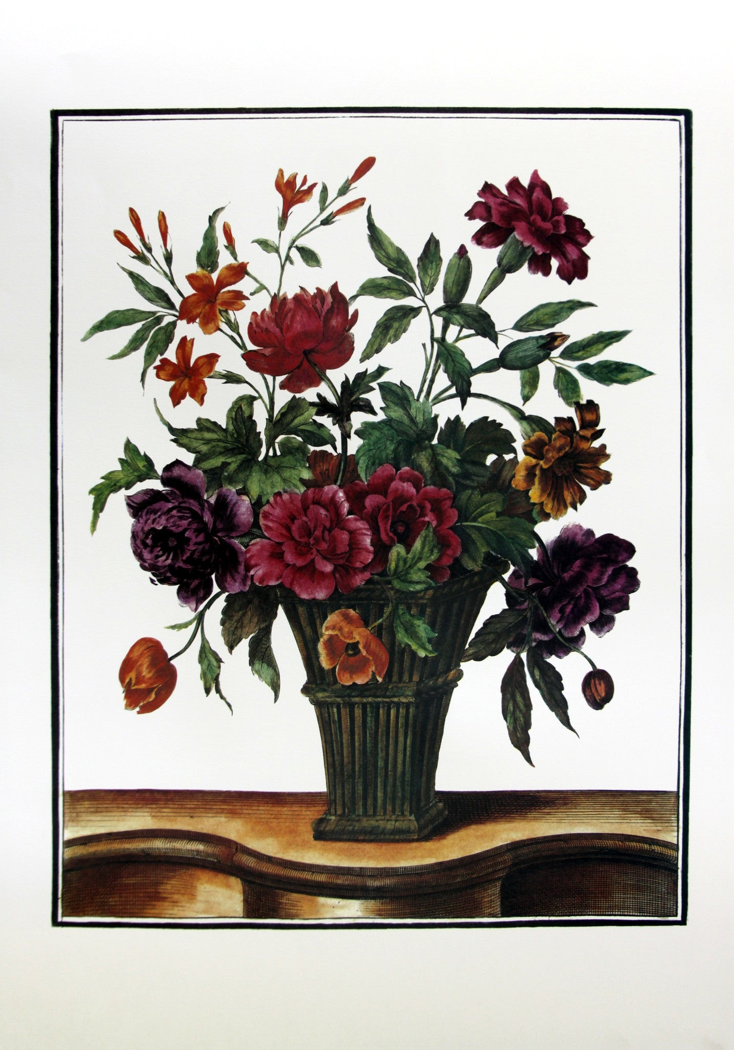 Bouquets in Vases (1), by Monnoyer