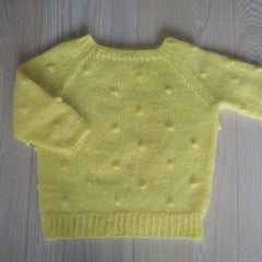 Popcorn genser / paelas pop sweater (norwegian and english)