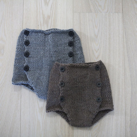 High waist shorts (norwegian and english)