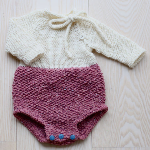 Bliss babyromper (Norwegian and English)