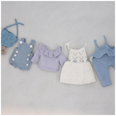 Paelas miniklassikere 2 til dukke/ Paelas Doll Knits 2 (Norwegian and English)