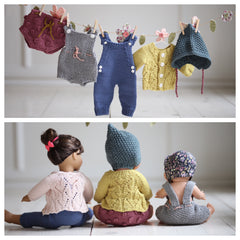 Paelas MiniKlassikere til dukke!/ Paelas Doll Knits (Norwegian and English)
