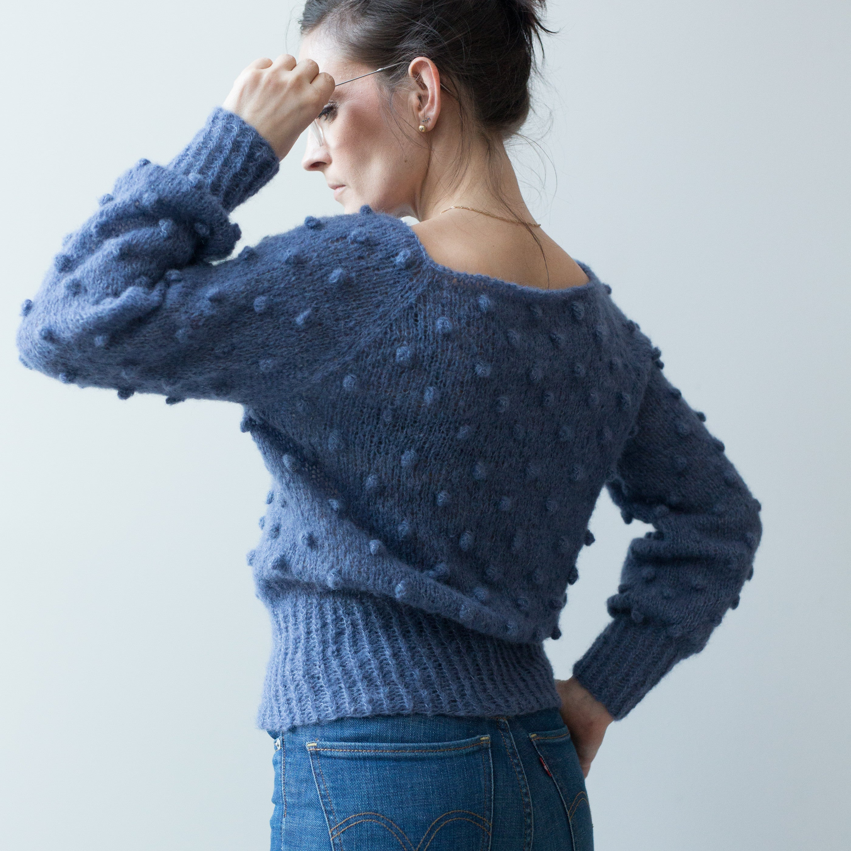 pop de luxe - paelas adult popcorn sweater (Norwegian and English)