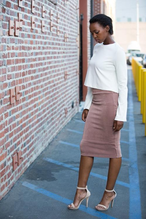 BONJOUR PENCIL SKIRT