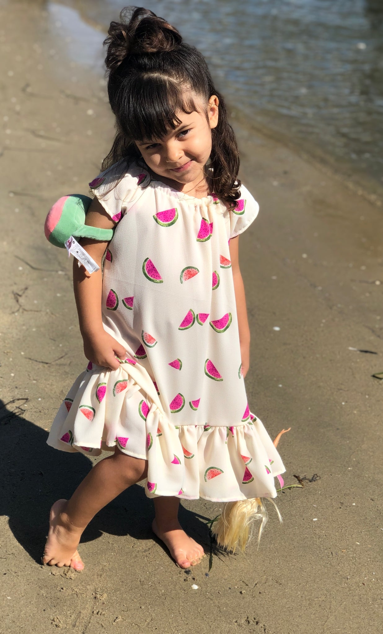 XALI WATERMELON DRESS