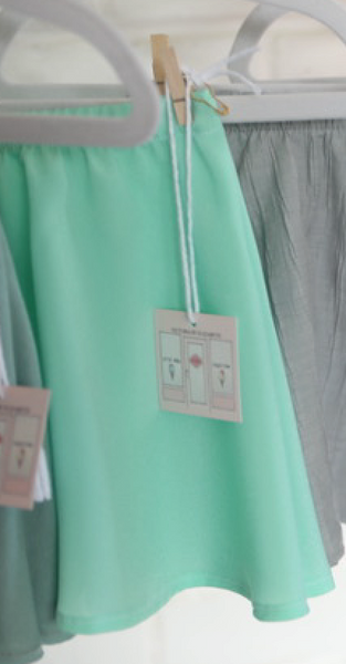 MINT AND CHIP SKIRT