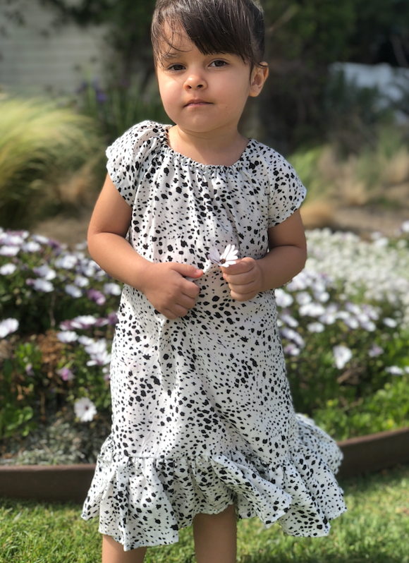 XALI POLKA DOT DRESS