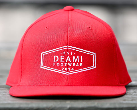 BORN IN DETROIT RED SNAPBACK