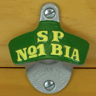South Pacific SP No.1 BIA Beer Wall Mount Bottle Opener