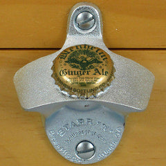 BLENHEIM Ginger Ale Bottle Cap Starr X Wall Mount Stationary Bottle Opener