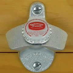 DELAWARE PUNCH Soda BOTTLE CAP Starr X Wall Mount Stationary Bottle Opener