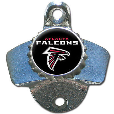 Atlanta Falcons Wall Mount Bottle Opener. NFL