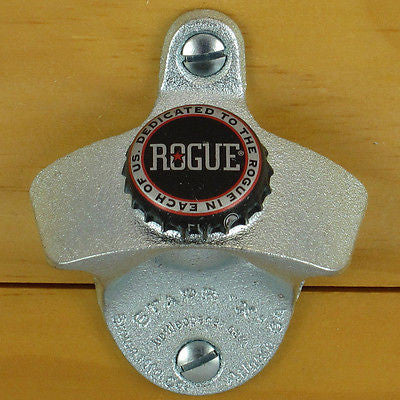 Rogue Ales Bottle Cap Wall Mount Bottle Opener