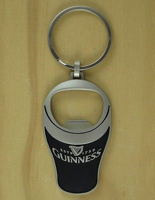 Guinness Bottle Opener Key Chain, Pint Glass 3D