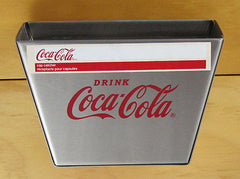 Coca Cola Coke Stainless Steel Cap Catcher for Wall Mount Bottle Opener
