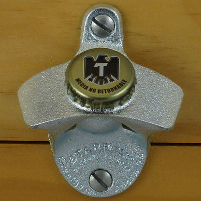 Tecate Mexican Beer Wall Mount Bottle Opener