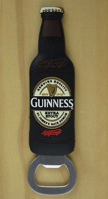 Guinness Bottle Fridge Magnet Bottle Opener