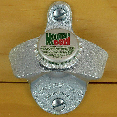 Mountain Dew Starr X Wall Mount Bottle Opener